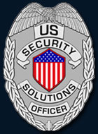 US Security Solutions Badge